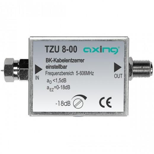 Axing TZU 8-00 BK-Kabelentzerrer | 606 MHz, einstellbar
