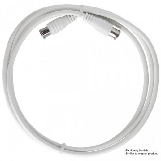 Axing SAK 501-00 F-Quick Anschlusskabel | 5,00m, weiß