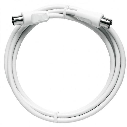 Axing  BAK 500-80, SB-Polybeutel BK-Anschlußkabel,IEC,5,00m,weiß,Class A
