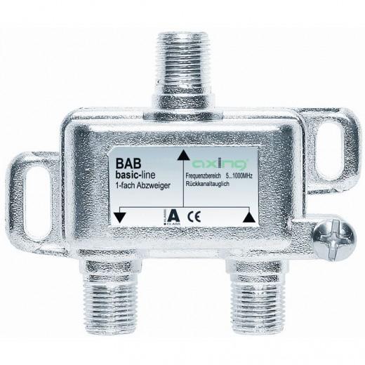 Axing BAB 10-08 Abzweiger | 1-fach, 8dB