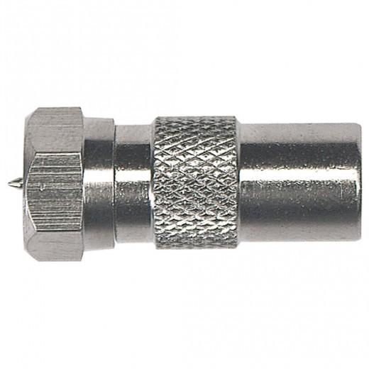 Axing CFA 10-00 Adapter IEC-Stecker-F-Stecker