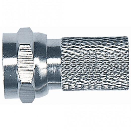 Axing CFS 0-00 F-Stecker für Kabel mit einem 7mm Durchmesser