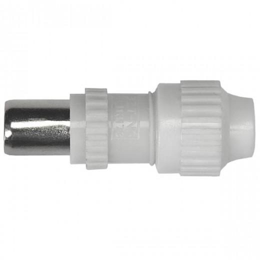 Axing CKS 20-00 IEC-Koaxstecker | Kunststoff