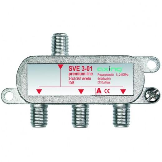 Axing SVE 3-01 3-fach SAT-Verteiler | 5-2200 MHz