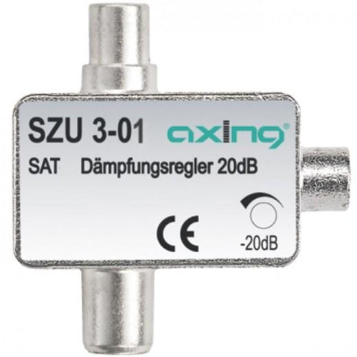 Axing SZU 3-01 Sat-Dämpfungsglied 0,5-20 dB einstellbar