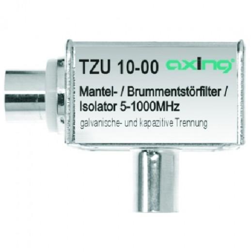 Axing TZU 10-00 Mantelstrom-/Brummentstörfilter | IEC Anschluss