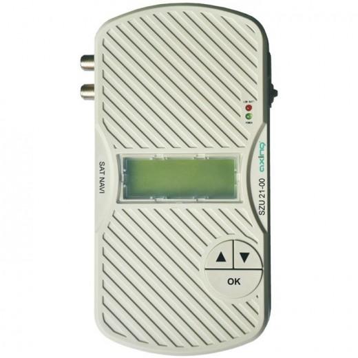 Axing SAT-Navi SZU 21-00 kompaktes digitales Sat-Finder Tool zur einfachen Ausrichtung von Satelliten-Antennen