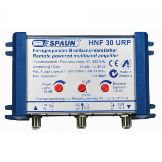 Spaun HNF 30 URP Ferngespeister Hausanschluss- und Nachverstärker mit 20 bis 30 dB Verstärkung