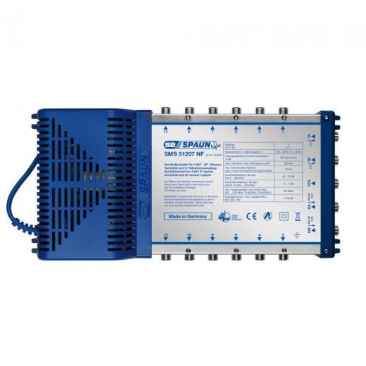 Spaun SMS 51207 NF Kompakt-Multischalter mit aktiver Terrestrik 12 Teilnehmer 1 Satellit