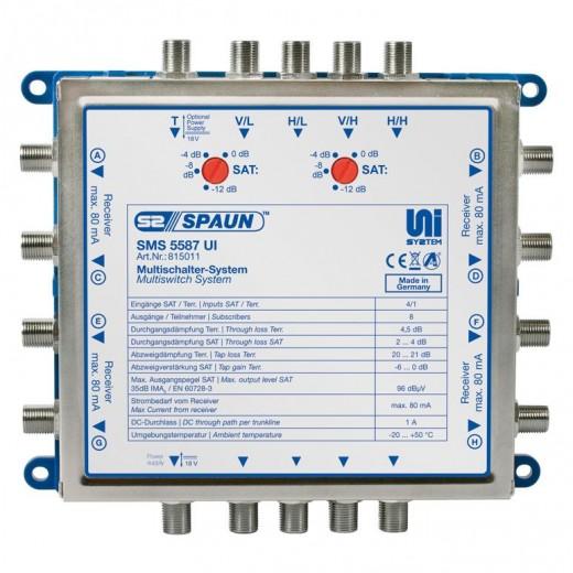 Spaun SMS 5587 UI UniSystem-Multischalter