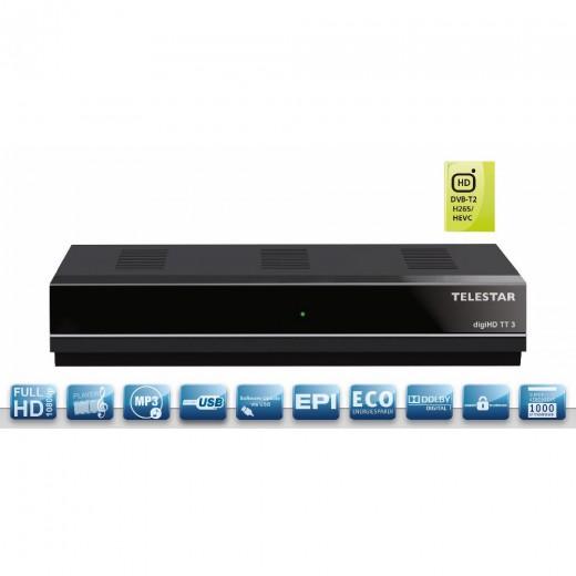 Telestar DigiHD TT3 DVB-T2 HD Receiver