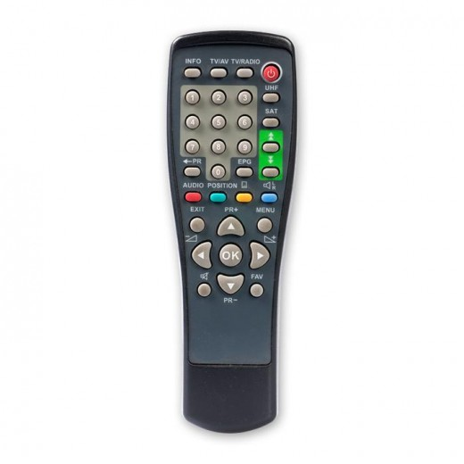Telestar 5400020 Original-Fernbedienung für Starsat 1, Starsat 1 T, Starsat 1 HC, Satplus S2, Free 1002, Digital S, Viola T Receiver