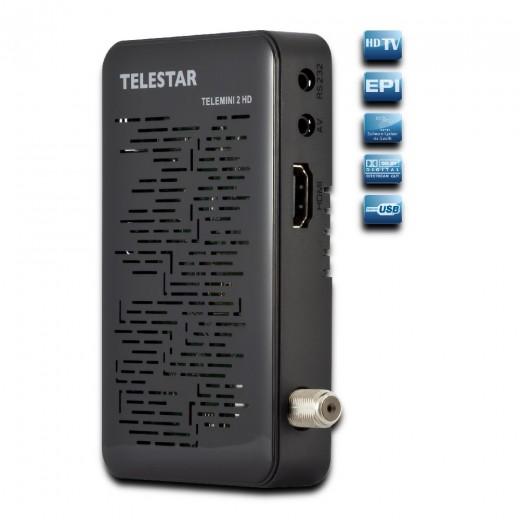 Telestar Telemini 2HD DVB-S2, FTA, HDMI, 12V