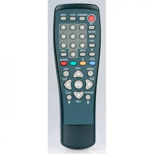 Telestar 5400019 Original-Fernbedienung für TeleTwin1T, TeleTwin1S, OrbiTwinT, OrbiTwinS, SXTwinT, SXTwinS, TXTwinT und TXTwinS Receiver