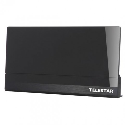 Telestar Antenna 9 LTE schwarz DVB-T + DVB-T2 HD Innenantenne mit LTE-Filter