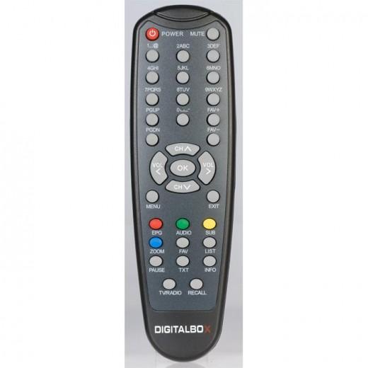 Digitalbox 77-5005-00 Original-Fernbedienung für Imperial HD 2 plus Receiver
