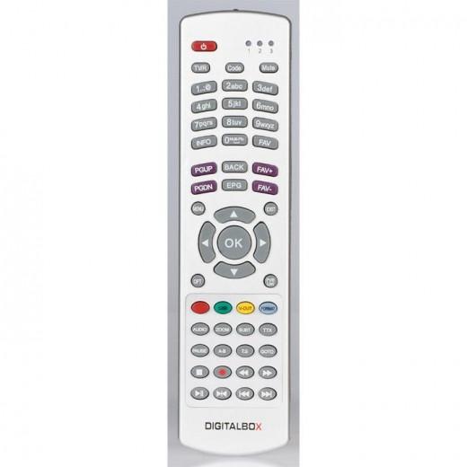 Digitalbox 77-5007-00 Original-Fernbedienung für Imperial HD 2 basic Receiver