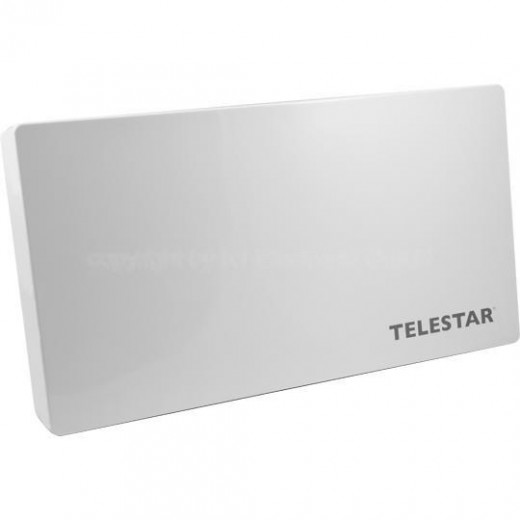 Telestar Digiflat Air Sat to IP Flachantenne | 8xIP, 2xLegacy