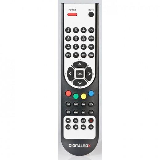 Digitalbox Imperial Fernbedienung 77-5014-00  für Imperial HD 3 basic, HD3 basic-L und HD 3 max