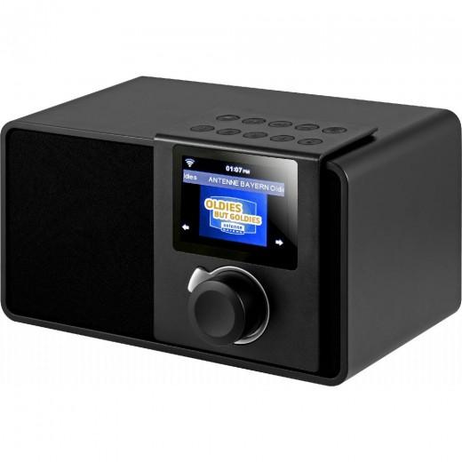 Noxon iRadio Rev.2  17300 Internet-Radio,schwarz,Farbdisplay