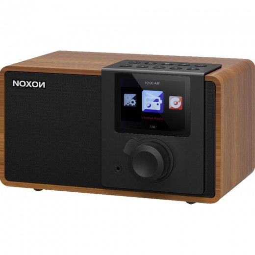 Noxon iRadio 1  17200 Internet-Radio,Wallnuss-Optik
