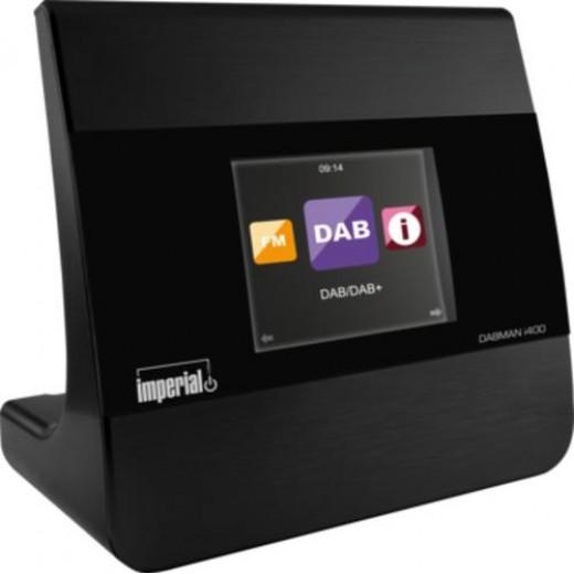 Imperial Dabman i400 | DAB+/UKW, Internet, schwarz