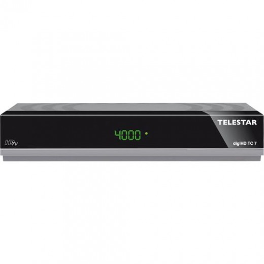 Telestar DigiHD TC7 DVB-C2 Receiver   HDMI, Scart, Ethernet, PVR, grau