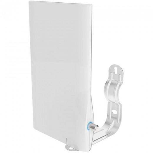 Funke DSC 550 4G LTE DVB-T2 Außenantenne flach weiß mit 23dB Verstärkung