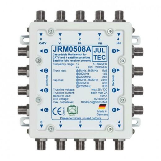 Jultec JRM 0508A Multischalter stromsparend | 1 Satellit | 8 Teilnehmer | kaskadierbar