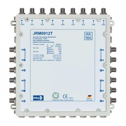 Jultec  JRM 0912T Multischalter 9/12, terminiert