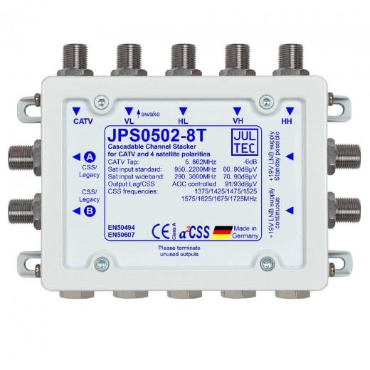 Jultec  JPS0502-8T Einkabelumsetzer | 5/2x8, terminiert