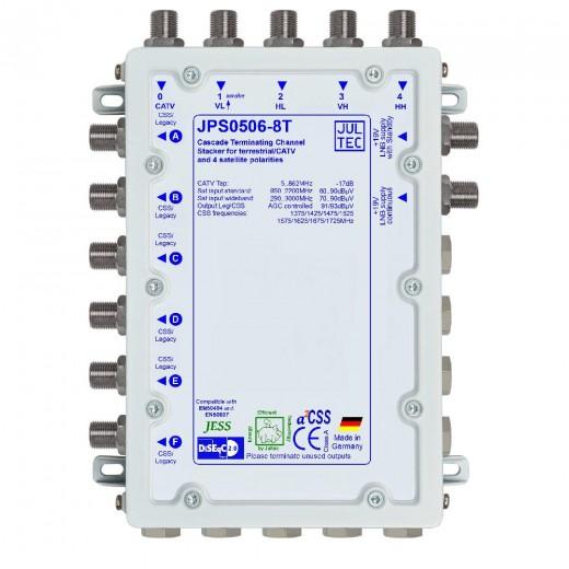 Jultec  JPS0506-8T Einkabelumsetzer | 5/6x8, terminiert