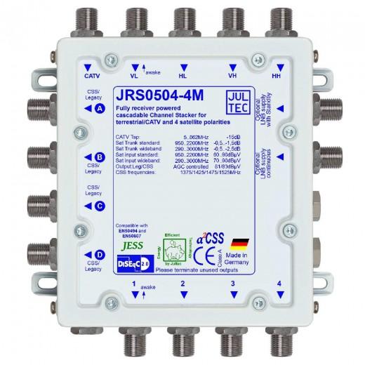 Jultec  JRS0504-4M Einkabelumsetzer, 5/4x4, kaskadierbar