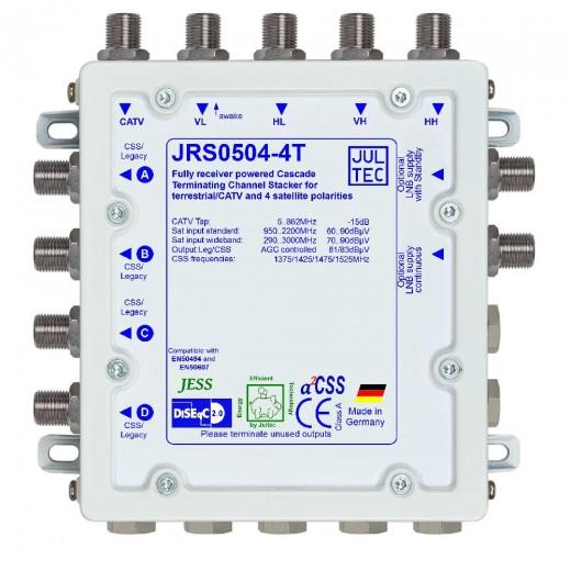 Jultec  JRS0504-4T Einkabelumsetzer,5/4x4,terminiert