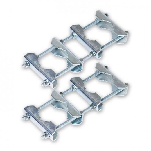ASCI DRH 200 Doppelrohrhalter aus Stahl 40-60 mm