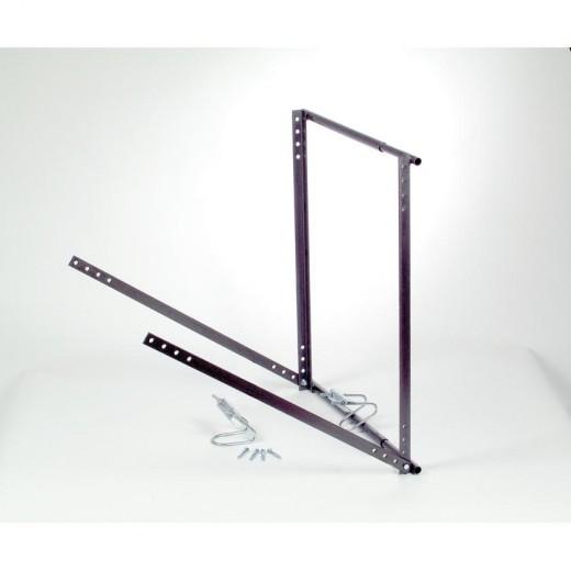 RMH 800 Teleskop-Rahmenhalter aus Stahl teleskopartig ausziehbar für Dachsparrenabstände von 46 bis 77 und einer Einspannlänge von 800 mm