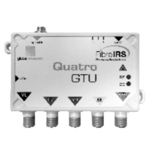 Invacom IRS Quattro-Abschluß Einheit MKIII optisch/DVB-T - 4x HF-Sat Frequenz