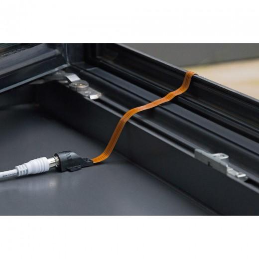KFD 500 Fensterdurchführung hochflexibel extrem flach 0,5 m Kupfer-Flachkabel
