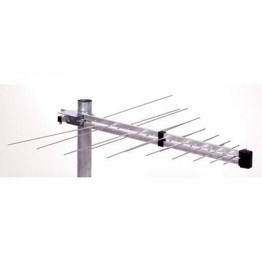 ASCI VUF 116 V aktiv Aktive, logarithmisch-periodische Kombiantenne DVB-T