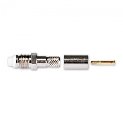 Fuba FMK 101 FME-Crimpbuchse für Low-Loss Kabel