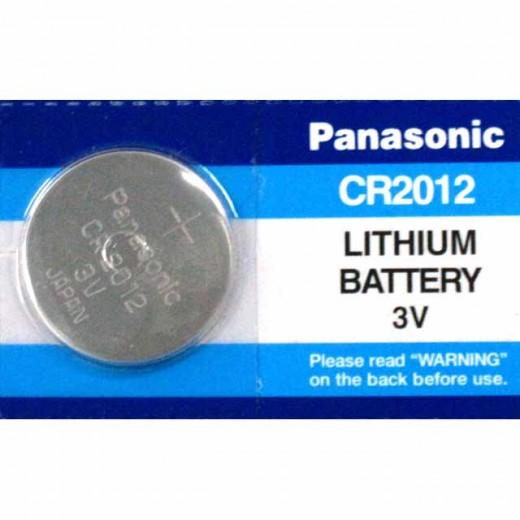 Panasonic CR 2012 Lithium-Knopfzelle,3,0V,55mAh,Blister