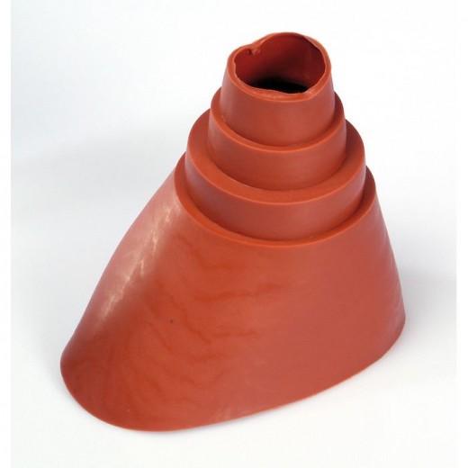 DMU 425 R Universal-Dichtungsmanschette rot 38 - 60 mm aus UV-beständigem Gummi