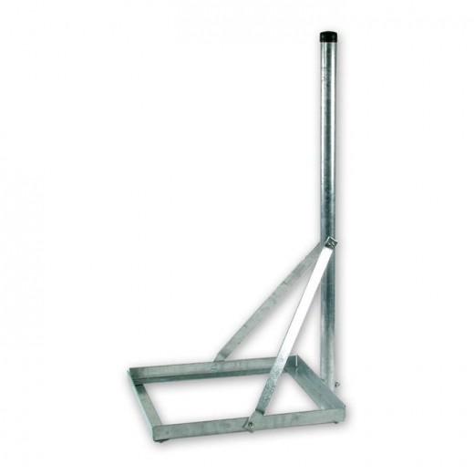 ASCI BSS 510 Balkonständer aus feuerverzinktem Stahl mit Standrohr
