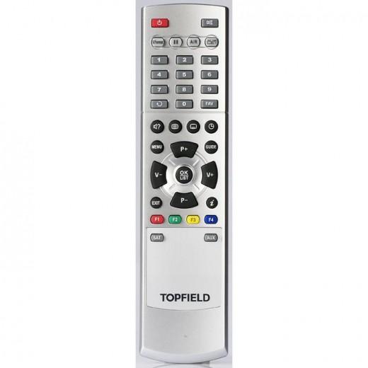 Topfield TF 7700 HSCI silber Original-Fernbedienung für TF 7700 HSCI und TF 7700 HTCO Receiver
