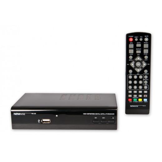 Newline HD22 HDTV-Satellitenreceiver mit PVR-Funktion
