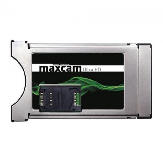 Maxcam Ultra HD programmierbares Twin CI-Modul mit 2 Kartenlesern