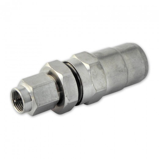 PPC D015-FM F-Stecker für N92-Koaxialkabel mit einem Außendurchmesser von 12 - 13 mm
