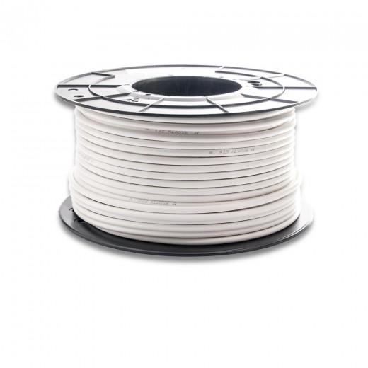 Fuba GKA 350 Universal-Koaxkabel | weiß, 100m-Spule, ClassA+, 3-fach geschirmt
