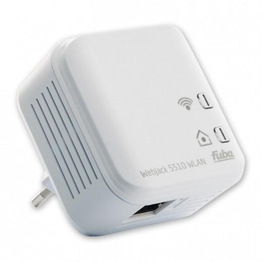 Fuba WebJack 5510 WLAN 500 Mbit/s Powerline-Adapter mit RJ45 Buchse und WLAN