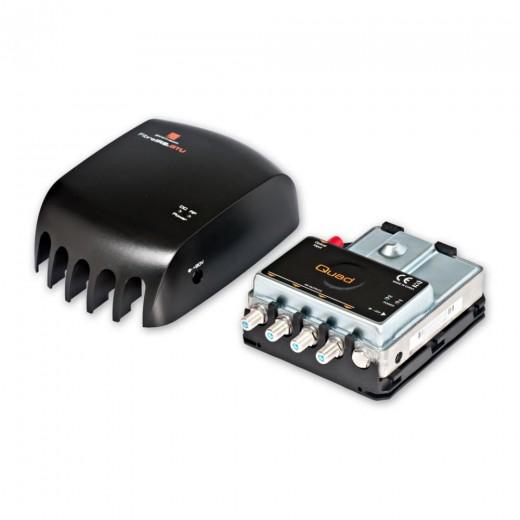 Fuba OAE 945 Optische Quattro-Switch-Abschlusseinheit mit DVB-T und FM